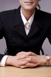 Bedrijfs vrouw Royalty-vrije Stock Fotografie