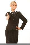 Bedrijfs Vrouw stock fotografie
