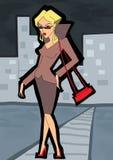 Bedrijfs vrouw - 2 Stock Afbeelding