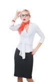 Bedrijfs vrouw - 2 Stock Foto's