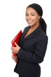 Bedrijfs vrouw. Stock Foto