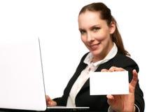 Bedrijfs vrouw - 2 Royalty-vrije Stock Foto's