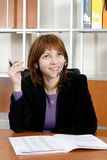 Bedrijfs vrouw Stock Foto's
