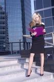 Bedrijfs vrouw Royalty-vrije Stock Foto's
