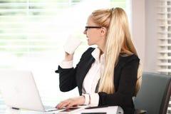 Bedrijfs vrouw - 2 stock fotografie