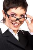 Bedrijfs vrouw Stock Afbeelding