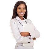 Bedrijfs vrouw met laptop royalty-vrije stock afbeelding