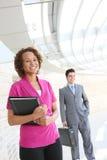 Bedrijfs Vrouw op Kantoor Royalty-vrije Stock Fotografie