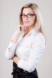 Bedrijfs vrouw portret Royalty-vrije Stock Afbeelding