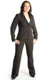 Bedrijfs vrouw status Stock Foto