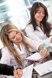Bedrijfs vrouwen Royalty-vrije Stock Afbeelding
