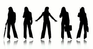 Bedrijfs vrouwen Royalty-vrije Stock Afbeeldingen