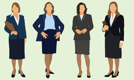 Bedrijfs Vrouwen Royalty-vrije Stock Foto
