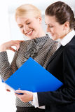 Bedrijfs vrouwen Royalty-vrije Stock Fotografie
