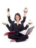 Bedrijfs vrouwenconcept Royalty-vrije Stock Foto's