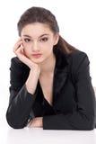 Bedrijfs vrouwenportret Stock Afbeeldingen