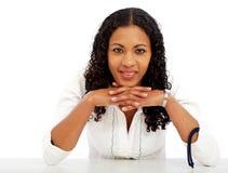 Bedrijfs vrouwenportret Royalty-vrije Stock Foto's
