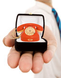 Bedrijfs waarden - verplichting aan goede mededeling Royalty-vrije Stock Fotografie