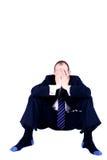 Bedrijfs wanhoop Stock Foto's