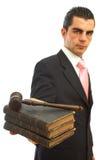 Bedrijfs wet Stock Foto