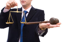 Bedrijfs wetten royalty-vrije stock foto's