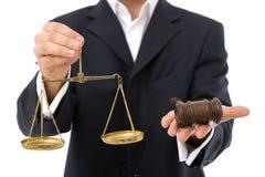 Bedrijfs wetten stock foto