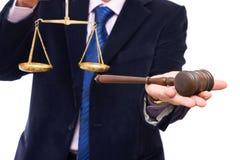 Bedrijfs wetten Stock Fotografie