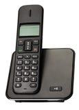 Bedrijfs zwarte telefoon stock afbeelding