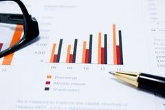 Bedrijfsanalyse Stock Afbeeldingen