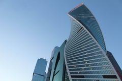 Bedrijfsarchitectuur, de stad van Moskou royalty-vrije stock afbeelding
