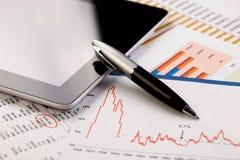 Bedrijfsboekhouding Stock Afbeelding