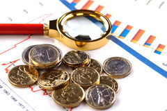 Bedrijfsboekhouding Stock Foto's