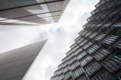 Bedrijfsbureau, de Collectieve bouw Stock Afbeeldingen