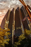 Bedrijfsbureaugebouwen Stock Afbeelding