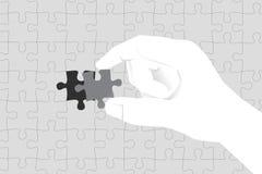bedrijfsconcept oplossing en opdracht vector illustratie