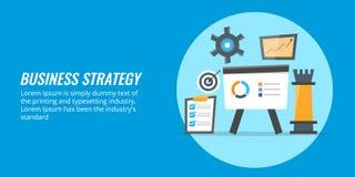 Bedrijfsconcept oplossing, gegevensanalyse en informatie voor het maken van bedrijfstrategie Royalty-vrije Stock Foto