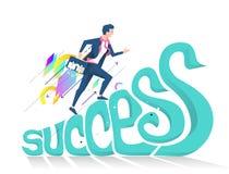 Bedrijfsconcept succes vector illustratie
