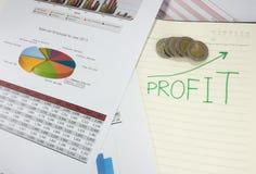 Bedrijfsdocumenten Stock Foto's