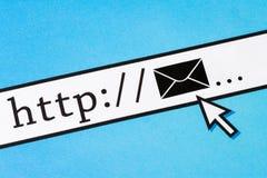 Bedrijfse-mail concept royalty-vrije stock foto's