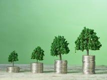 Bedrijfsfinanci?n en geldconcept stock foto's
