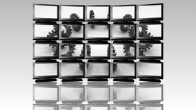 Bedrijfsgroepswerkconcept stock illustratie