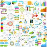 Bedrijfsinfographicselement voor presentationjumboinzameling Stock Afbeeldingen