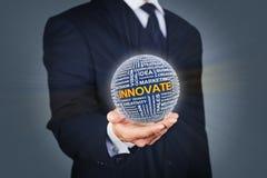 Bedrijfsinnovatie stock afbeelding