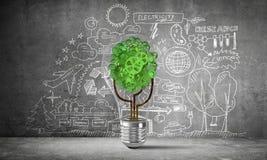 Bedrijfsinnovaties voor wereldecologie Royalty-vrije Stock Afbeelding