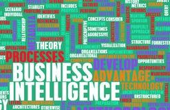 Bedrijfsintelligentie Stock Foto's