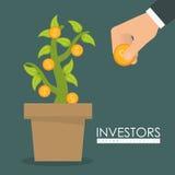 Bedrijfsinvesteerders Royalty-vrije Stock Foto's