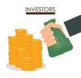 Bedrijfsinvesteerders Stock Foto's
