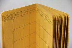 Bedrijfskalender Stock Afbeeldingen