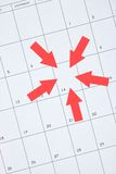 Bedrijfskalender Royalty-vrije Stock Afbeelding