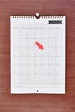 Bedrijfskalender Stock Foto